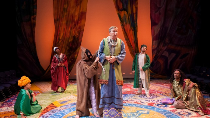 The cast of ARABIAN NIGHTS. Photo: A.R. Sinclair Photography.
