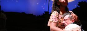 Ramona Lisa Alexander and Will McGarrahan in A MOON FOR THE MISBEGOTTEN. Photo: Elizabeth Stewart/Libberding Photography.