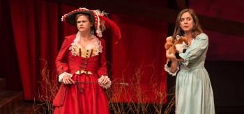 Lynn R. Guerra & Aimee Rose Ranger in HER ACHING HEART. Photo: A.R. Sinclair Photography.