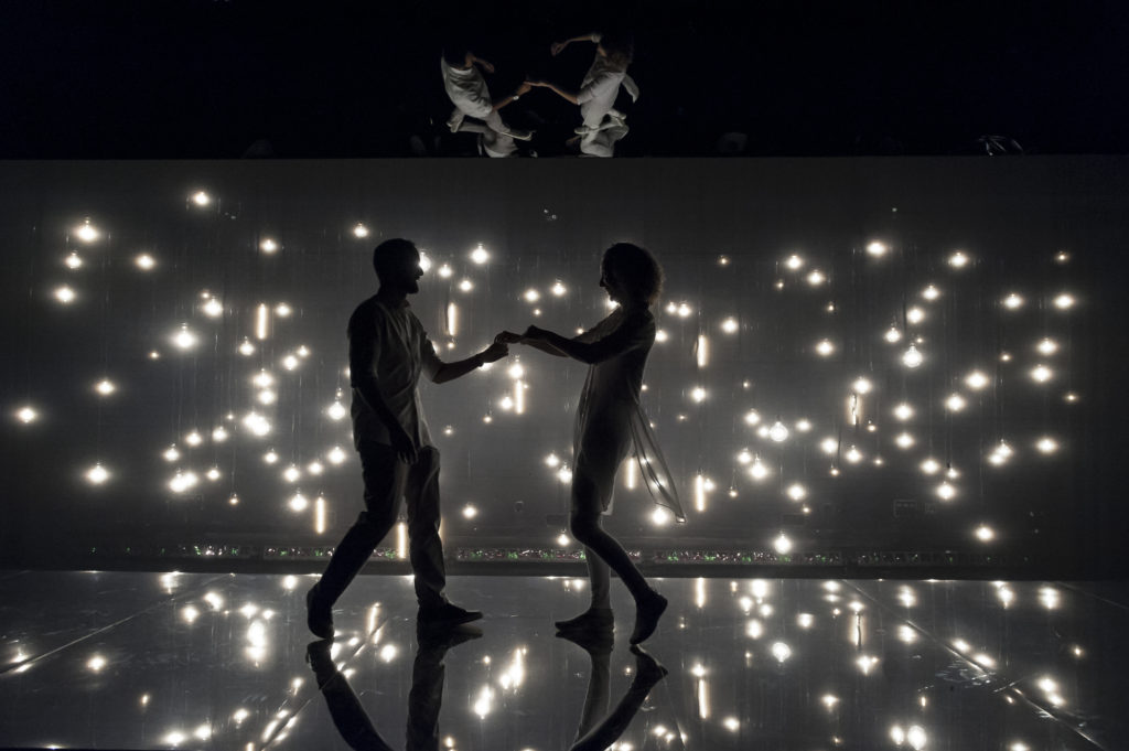 Nael Nacer & Marianna Bassham in CONSTELLATIONS. Photo: A.R. Sinclair Photography