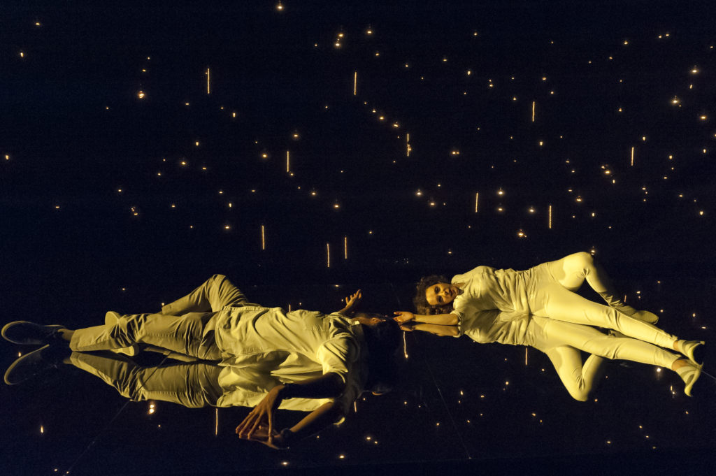 Nael Nacer & Marianna Bassham in CONSTELLATIONS. Photo: A.R. Sinclair Photography.