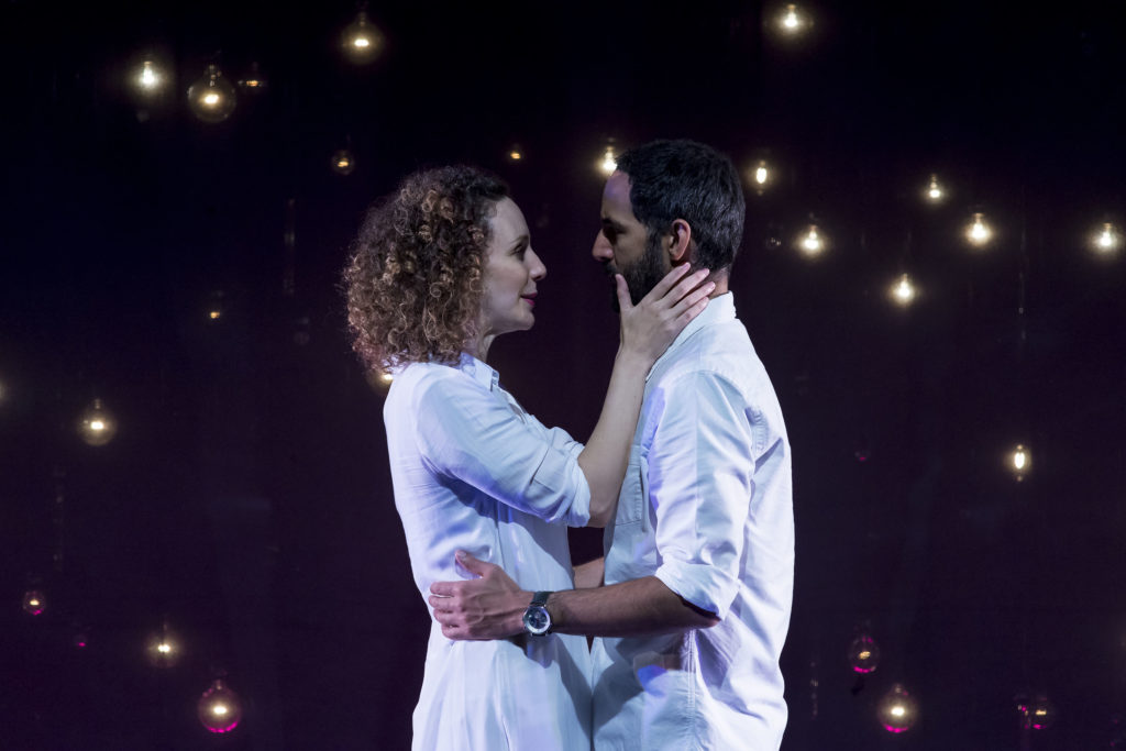 Marianna Bassham & Nael Nacer in CONSTELLATIONS. Photo: A.R. Sinclair Photography.