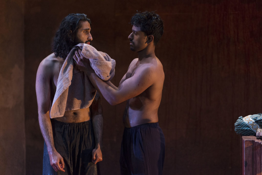 Harsh J. Gagoomal & Jacob Aythal in <strong><em>Guards at the Taj</em></strong>. Photo: A.R. Sinclair Photography.