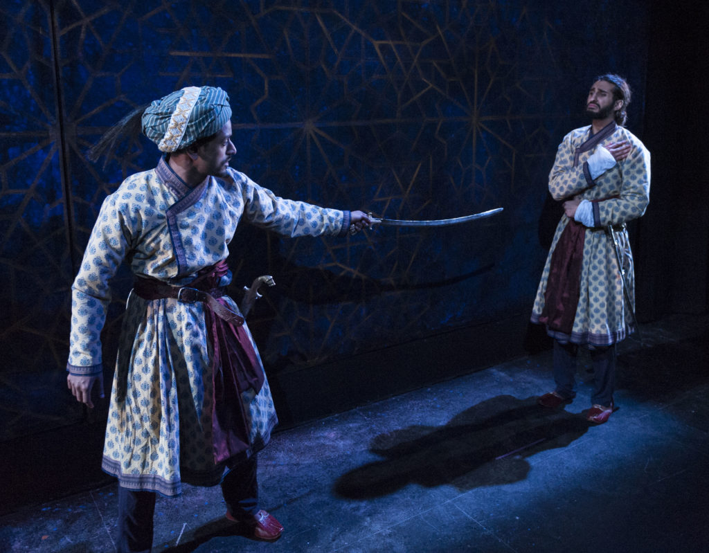 Jacob Aythal & Harsh J. Gagoomal in <strong><em>Guards at the Taj</em></strong>. Photo: A.R. Sinclair Photography.