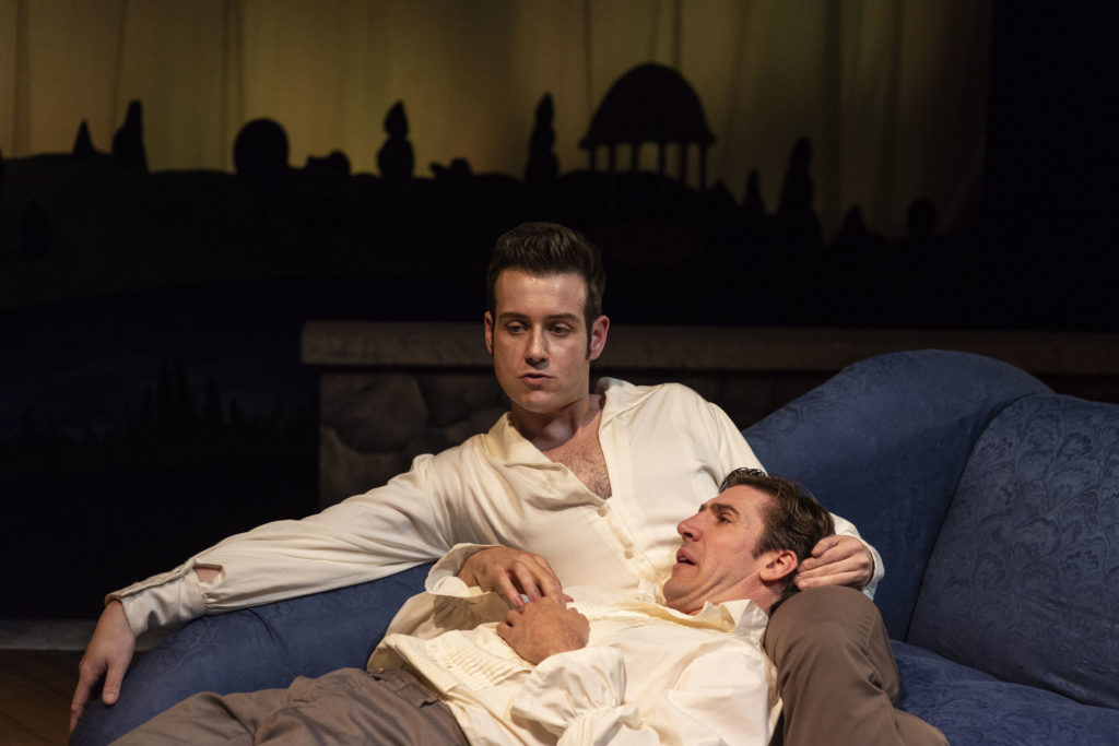 Greg Maraio (Merteuil) & Dan Whelton (Valmont). Photo: A.R. Sinclair Photography.